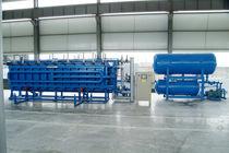 Partikelschaum-Formteilautomat / EPS-Block / PLC-gesteuert / horizontal