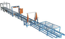 Schneidmaschine für EPS / Heißdraht / Profil / PLC-gesteuert