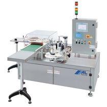 Automatische Etikettiermaschine / für die Pharmaindustrie / in Reihe / für Verpackungsoberseite