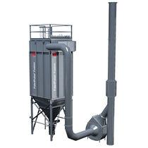 Druckstoßabreinigung-Entstauber / kompakt / modular