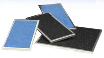 Luftfilter / Platten / mit Aktivkohle / hochwirksamer