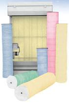 Glasfaser-Filtermedium / Staub / für Rollband