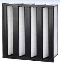 Luftfilter / Platten / für Hochleistung / Staub
