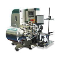 Kugel-Rührwerksmühle / horizontal / für Kabel / für die Pharmaindustrie