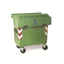 HDPE-Müllbehälter / für Siedlungsabfälle / 2-Rad / 4 Räder