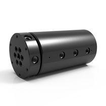 Drehdurchführung für Vakuum / 6-Wege / hydraulisch / aus Kohlenstoffstahl