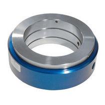 Drehdurchführung für Wasser / für pneumatische Anwendung / Aluminium / wellenmontiert