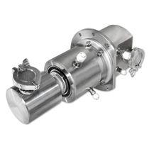 Drehdurchführung für Wasser / für Gas / 3-Wege / Hochdruck