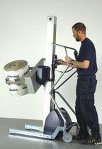 Hebegerät für Rollen / für Aufroller / mit Greifsystem / batteriebetrieben