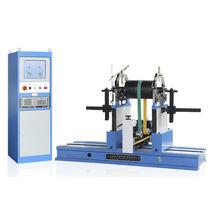 Riemenantriebs-Auswuchtmaschine / horizontal / für Rotoren / für Eisenbahnachsen