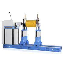 Horizontale Auswuchtmaschine / für Rotoren / für Ventilatoren / für Propellerträgerwelle