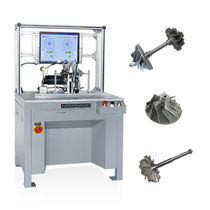 Horizontale Auswuchtmaschine / Riemenantrieb / für Turbokompressor / Hochpräzision