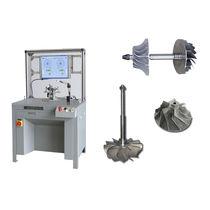 Horizontale Auswuchtmaschine / Riemenantrieb / für Turbokompressor / für Turbinenrad