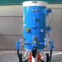 Mobile Sandstrahlanlage / druckgesteuert / automatisch