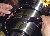 Ring-Lippen-Dichtung / V-Ring / aus Polymermaterial / für Drehwellen