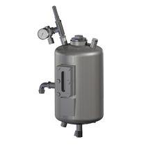 Metallbehälter / Druck / vertikal