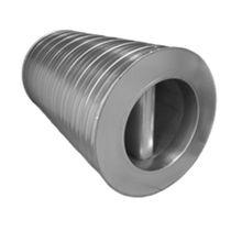 Druckausgleich-Schalldämpfer / für Rohre / Aluminium / Edelstahl