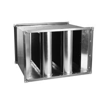 Druckausgleich-Schalldämpfer / für Leitungen / für Klimaanlagen / Stahl