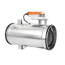 Differenzdruck-Durchflussregler / für Luft / für CVC-Anwendung