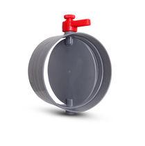 Pneumatischer Dämpfer / für Leitungssysteme / industriell / aus Kunststoff