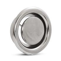 Ventil mit Scheibe / für Luft / aus Edelstahl / Niederdruck