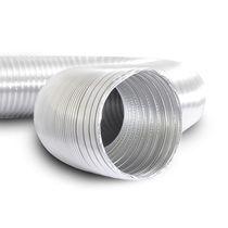Flexible Luftkanal / Aluminium / für hohe Temperaturen / für Lüftung