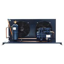 Halbhermetische Kondensationsanlage / luftgekühlt / für Innen