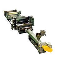 Kunststoffplatten-Extrusionsanlage / Platten / für Thermoplaste