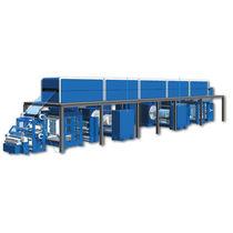 Rollen-Beschichtungsmaschine / optisch