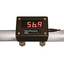 Impeller-Durchflussmesser / Druckluft / digital / clamp-on