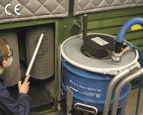 Staub-Industriesauger / pneumatisch / für Reinraum / mobil