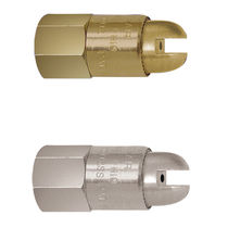 Vollkegeldüse / Luft / Durchflussverstärker / Austritts