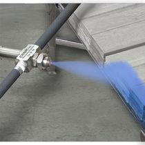 Düse für Zerstäubung / flach / Druckluft / für sehr feinen Nebel