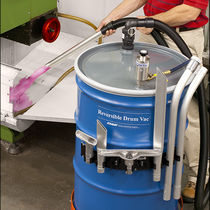 Flüssigkeits-Industriesauger / pneumatisch / für Industrieanwendungen / mobil