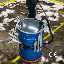 Industriesauger für Fässer / Flüssigkeit / pneumatisch / industriell