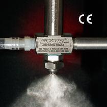 Spritzdüse / für Flüssigkeiten / mit Zufuhrsyphon