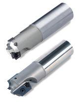Walzenstirnfräser / Wendeplatten / Hochpräzision / mit integrierter Kühlmittelzuführung