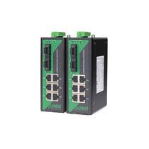 Ethernet-Switch / managed / 9 Ports / DIN-Schienen / für Außen