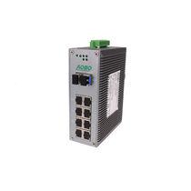 Ethernet-Switch / managed / 12 ports / Gigabit-Ethernet / DIN-Schienen