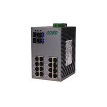 Ethernet-Switch / managed / 28 Ports / Gigabit-Ethernet / DIN-Schienen