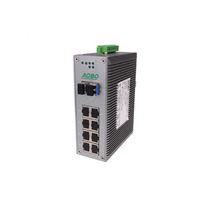 Ethernet-Switch / unmanaged / 12 ports / Gigabit-Ethernet / DIN-Schienen