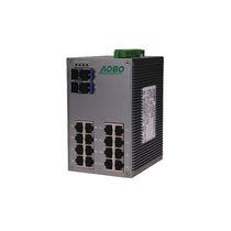 Ethernet-Switch / unmanaged / 28 Ports / Gigabit-Ethernet / DIN-Schienen