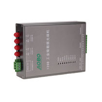 Transceiver für Lichtleiter / Daten / auf DIN-Schiene
