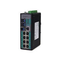 Ethernet-Switch / managed / 10/100BaseT(X) / Gigabit-Ethernet / Hutschienen