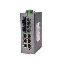Ethernet-Switch / managed / 8 ports / Serie / DIN-Schienen