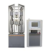 Universalprüfmaschine / computergesteuert / elektrohydraulisch