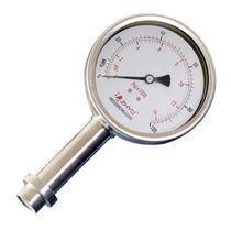 Manometer mit Zifferblatt-Anzeige / Membran / Prozess / für die Lebensmittelindustrie