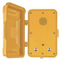 Vandalismussicheres telefon / wetterbeständig / analog / Schutztüren