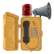 Vandalismussicheres telefon / wetterbeständig / IP66 / IP67