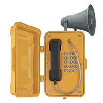 Vandalismussicheres telefon / wetterbeständig / IP66 / IP65